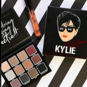 Kylie Cosmetics Kris Jenner Eye n Velvet lip set